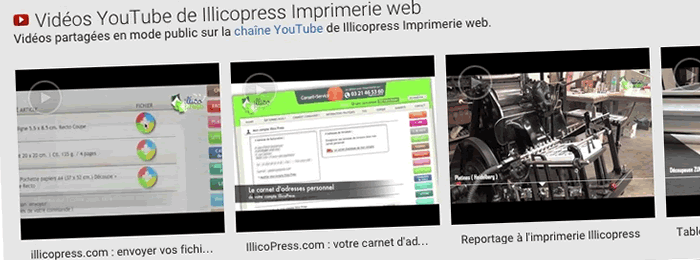 Des séquences vidéos pour les FAQ du site de l'imprimerie IllicoPress