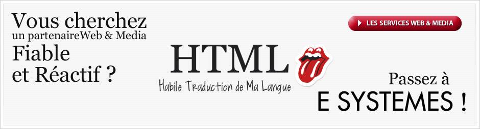 Intégration HTML, hébergement Web et optimisation SEO