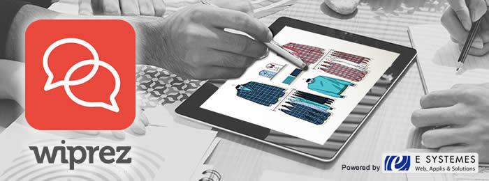 WIPREZ : application pour tablette, vos documents interactifs toujours disponibles, même sans connexion !