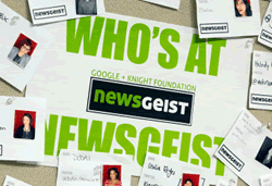 Who is at NewsGeist ?