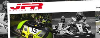 Le nouveau site web du Racing Kart JPR avec E SYSTEMES