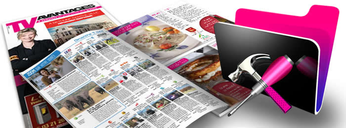 Développement FileMaker : l'application des gestion des parutions du magazine TV Avantages