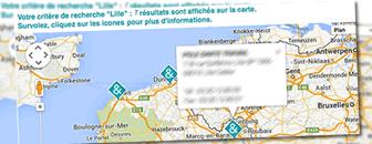 Personnaliser des cartes Google avec gMap3