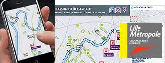 Développement application mobile pour LMCU