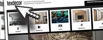 Le site de TEXDECOR développement web E SYSTEMES
