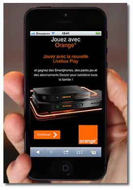 la livebox play se la joue sur mobile avec e systemes. Black Bedroom Furniture Sets. Home Design Ideas