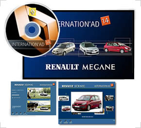 CD-Rom Multimedia pour Renault